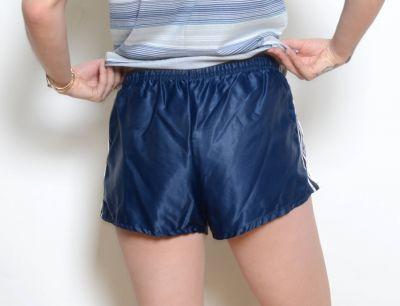 Umbro 0052 100% sateen nylon footy shorts