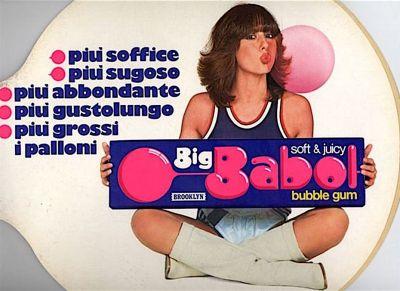 Daniela Goggi (Big Babol advertising,1982)